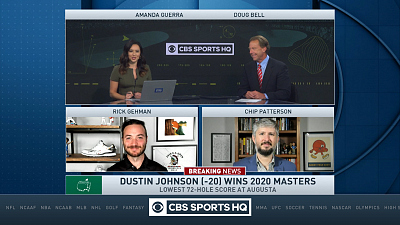 The Masters - CBS Sports HQ Masters Post Round Show - (11/15/2020)