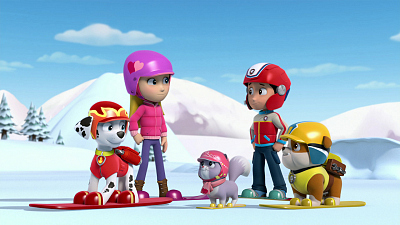 PAW Patrol - Pups Save the Treats