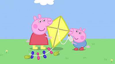 Peppa Pig - Flying a Kite/Muddy Puddles/Wi