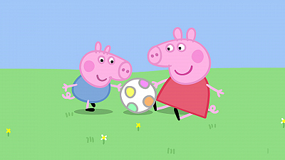 Peppa Pig - Piggy in the Middle/Pancakes/T