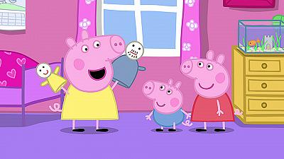 Peppa Pig - Chloe's Puppet Show/Babysittin