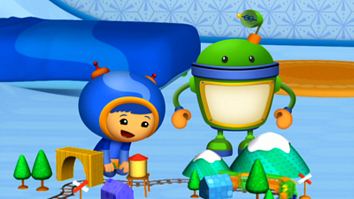 Team Umizoomi - The Wild West Toy Train Show