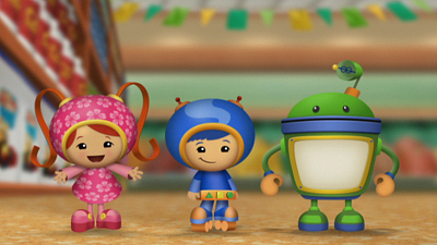 Team Umizoomi - The Elephant Sprinkler