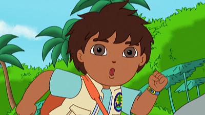 Go, Diego, Go! - Rainforest Race