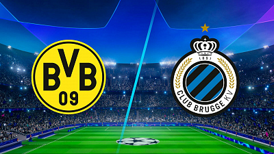 UEFA Champions League - Full Match Replay: Dortmund vs. Club Brugge