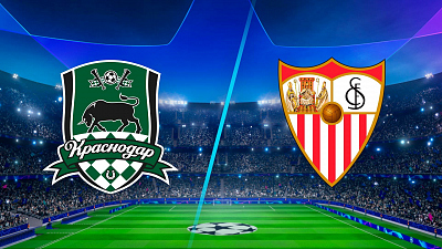 UEFA Champions League - Full Match Replay: Krasnodar vs. Sevilla