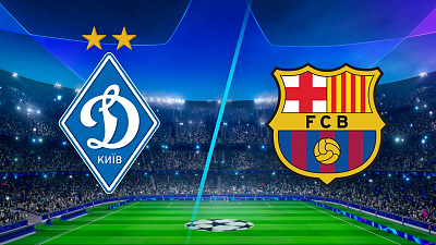 UEFA Champions League - Full Match Replay: Dynamo Kyiv vs. Barcelona