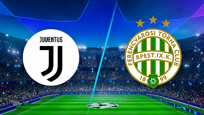 UEFA Champions League - Full Match Replay: Juventus vs. Ferencvaros
