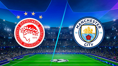 UEFA Champions League - Full Match Replay: Olympiacos vs Manchester City