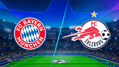 UEFA Champions League - Full Match Replay: Bayern vs. Salzburg