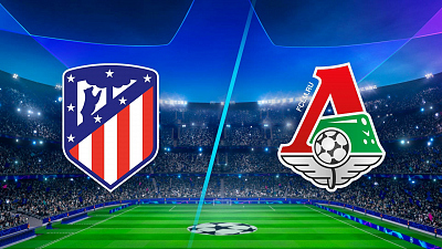 UEFA Champions League - Full Match Replay: Atletico Madrid vs. Lokomotiv Moscow