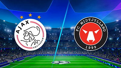 UEFA Champions League - Full Match Replay: Ajax vs. Midtjylland