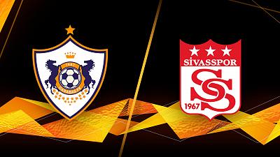 UEFA Europa League - Full Match Replay: Qarabag vs. Sivasspor