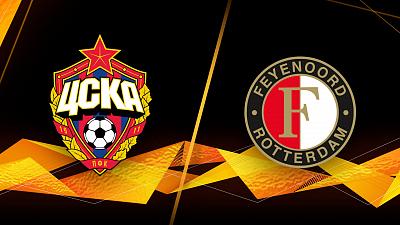 UEFA Europa League - Full Match Replay: CSKA Moscow vs. Feyenoord