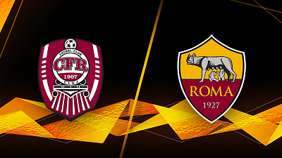 UEFA Europa League - Full Match Replay: Cluj vs. AS Roma