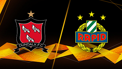 UEFA Europa League - Full Match Replay: Dundalk vs. Rapid Wein