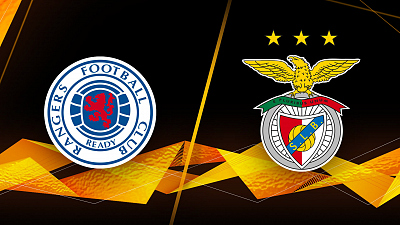 UEFA Europa League - Full Match Replay: Rangers vs. Benfica