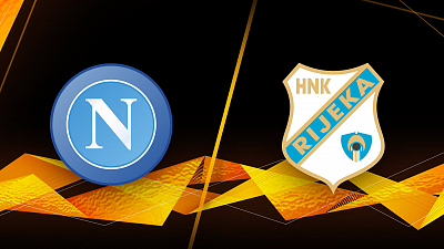 UEFA Europa League - Full Match Replay: Napoli vs. Rijeka