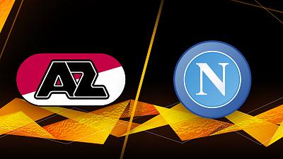 UEFA Europa League - AZ Alkmaar vs. Napoli
