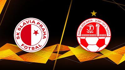 UEFA Europa League - Slavia Praha vs. H. Beer-Sheva