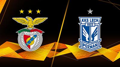 UEFA Europa League - Benfica vs. Lech