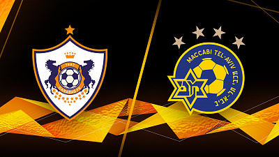 UEFA Europa League - Qarabag vs. M. Tel-Aviv