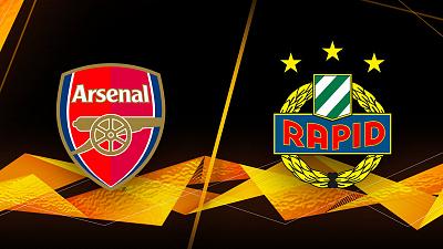 UEFA Europa League - Arsenal vs. Rapid Wien