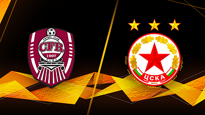 UEFA Europa League - CFR Cluj vs. CSKA-Sofia