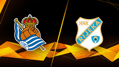 UEFA Europa League - Real Sociedad vs. Rijeka