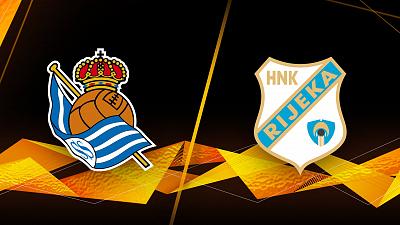UEFA Europa League - Real Sociedad vs. Rijeka