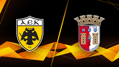 UEFA Europa League - AEK vs. Braga