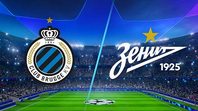UEFA Champions League - Club Brugge vs. Zenit