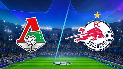 UEFA Champions League - Lokomotiv Moscow vs Salzburg