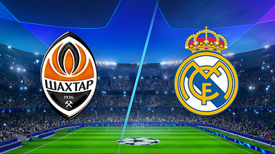 UEFA Champions League - Shakhtar Donetsk vs Real Madrid