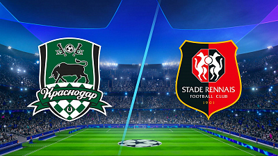 UEFA Champions League - Krasnodar vs Rennes