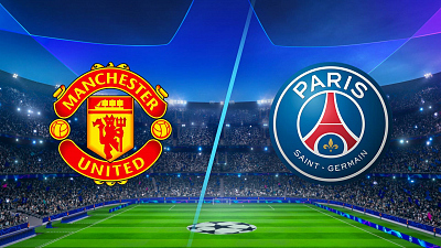 UEFA Champions League - Full Match Replay: Man United vs PSG