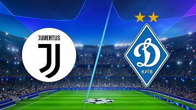 UEFA Champions League - Juventus vs Dynamo Kyiv