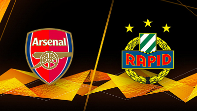 UEFA Europa League - Arsenal vs Rapid Wien