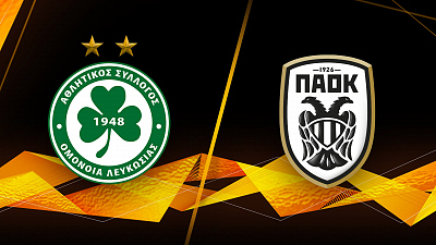 UEFA Europa League - Omonoia vs PAOK