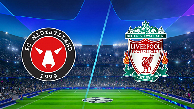 UEFA Champions League - Midtjylland vs. Liverpool