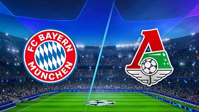 UEFA Champions League - Bayern vs. Lokomotiv Moscow
