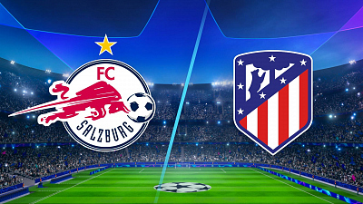 UEFA Champions League - Salzburg vs. Atlético Madrid
