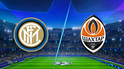 UEFA Champions League - Inter Milan vs. Shakhtar Donetsk