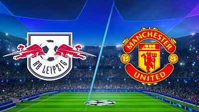 UEFA Champions League - RB Leipzig vs. Man. United