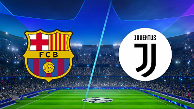 UEFA Champions League - Barcelona vs. Juventus