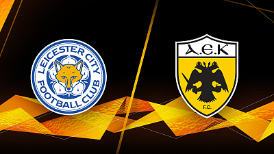 UEFA Europa League - Leicester City vs AEK Athens