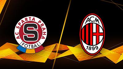 UEFA Europa League - Sparta Praha vs. AC Milan