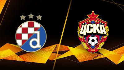 UEFA Europa League - Dinamo Zagreb vs. CSKA Moscow