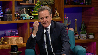 The Late Late Show with James Corden - 12/3/20 (Bryan Cranston, Rufus Wainwright)