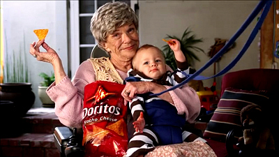 "Super Bowl Greatest Commercials - DORITOS - ""Sling Baby"" (2012)"